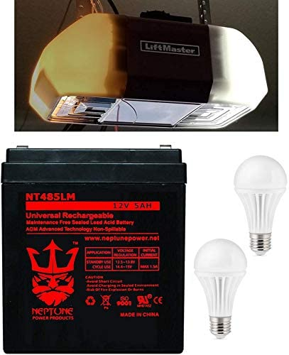 Safety and trust Liftmaster Chamberlain All stores are sold 485LM Replacement Battery Garage OEM for