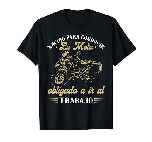 Hombre Motociclismo Regalo Motero Biker Camiseta