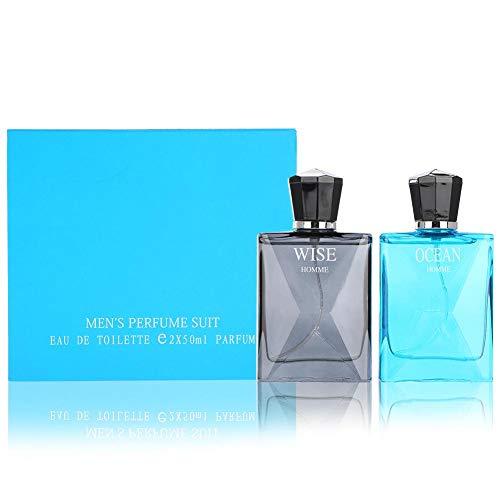 Eau de Toilette Spray, botella de 50 ml para hombre, perfume de colonia, perfume de océano, perfumista, caballero maduro, fragancia duradera, regalo para hombres
