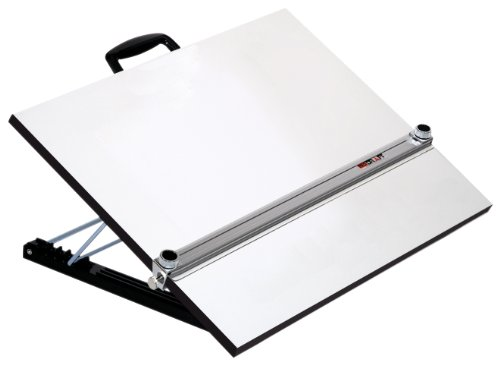 Martin Universal Design Adjustable Angle Parallel Drawing Board, XX Large, White