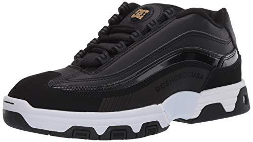 DC Women's Legacy LITE Skate Shoe, Black/Gold, 10 B M US