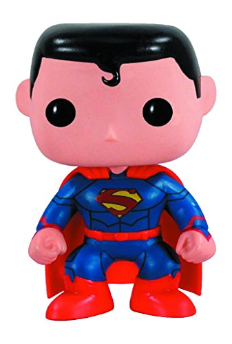 Pop Heroes Superman Vinyl Figure New 52 Version
