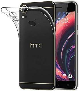 حافظة هاتف HTC Desire 10 Pro رفيعة للغاية من السيليكون الناعم TPU غطاء واقي شفاف