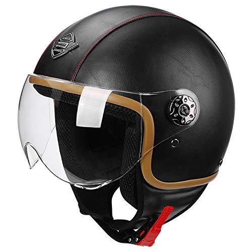 Casco de Moto Jet Abierto | Casco para Moto | Jet Casco | Casco de Motocicleta Abierto | Casco Jet Abierto | Casco Moto Jet Visera | ECE Homologado A,S