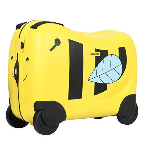 American Tourister Skittle Nxt Polypropylene 50 cms Yellow Kid's Luggage (FH0 (0) 06 001)