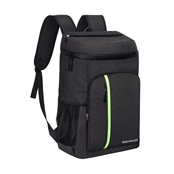 SEEHONOR Insulated Cooler Backpack Leakproof Soft Cooler Bag Lightweight Backpack...