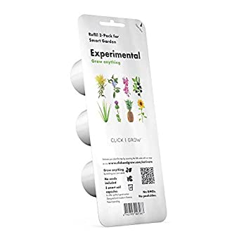 Click and Grow Experimental seedless Plant Pods 3-pack