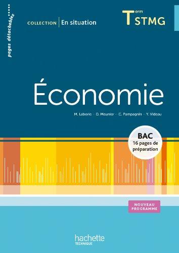 En situation Économie Terminale STMG - Livre élève - Ed. 2013 PDF Books