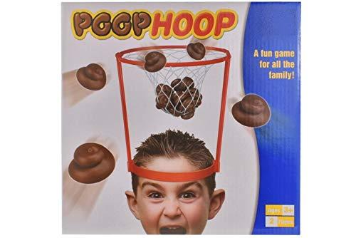 BALLOONSHOP Poop Hoop - Werfen Sie den Poop im Hoop - Fun Family Game - Alter 3+