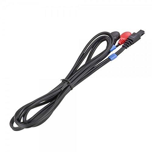 Compex EMS - Cable para electrodos 6 Pins-Snap, color negro/azul CO2 601064