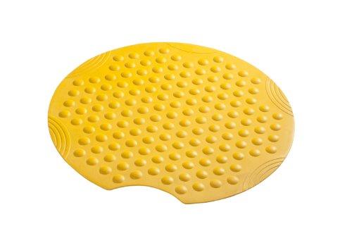 Ridder 682040-350 Duscheinlage ca. Ø 55 cm Tecno, gelb