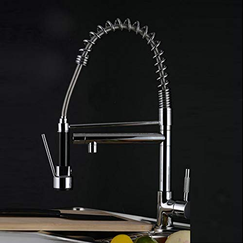 BFLO Kraan Hoge kwaliteit Mode Nieuwste nieuwe stijl Merk Keukenkraan Trek Spray Tap Dual Flow Sink Spring Mixer uit