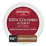 coffee cup colombia - Community Coffee Colombia Altura Single Serve Pods, Compatible with Keurig 2.0 K Cup Brewers, 24 Count (Pack of 4)