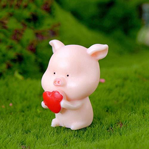 Gbc-type Piggy ornamenten klein beeld figuur dier model mos microlandschap wooncultuur miniatuur Piggy fee decoratie
