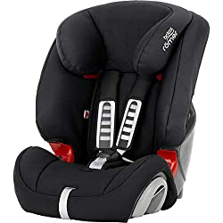 Made in the UK Suitable for use from 9 – 36 kg (≈ 9 months – 12 years) Flexible installation in most cars – with 3-point seat belt Comfort for longer journeys – recline position and drink holders Approved according to regulation ECE R44.04