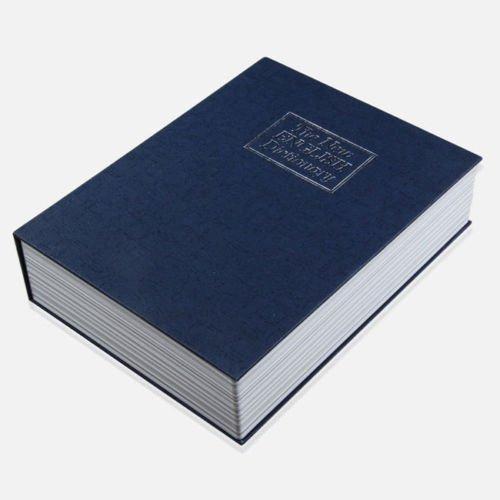 Cassaforte segreta forma libro cassetta sicurezza finto dizionario portavalore PICCOLA