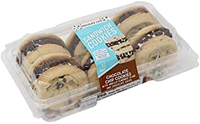 Our Specialty Chocolate Chip Sandwich Cookies with Vanilla Filling, 6 Count