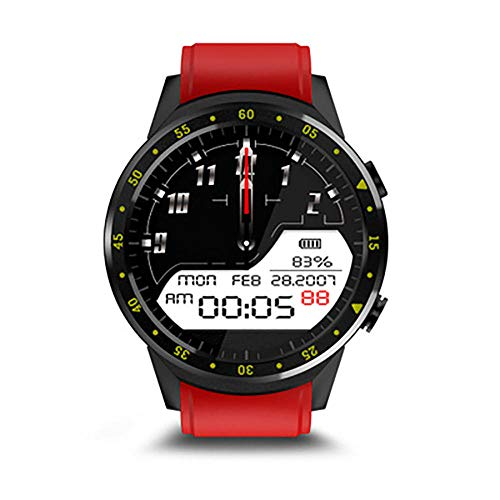 Rastreador de actividad Reloj de teléfono inteligente rastreador de actividad GPS posicionamiento de detección de frecuencia cardíaca pulsera al aire libre Fitness Tracker reloj-C.