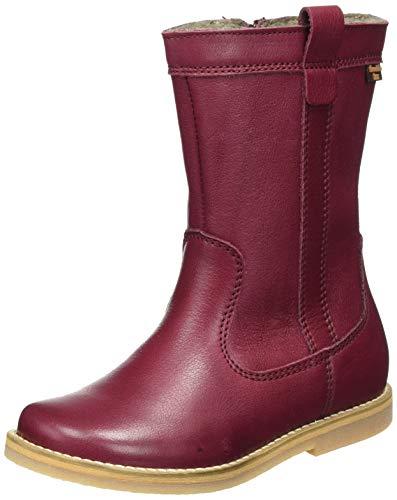 Froddo Girls G3160122 Fashion Boot, Bordeaux, 34 EU