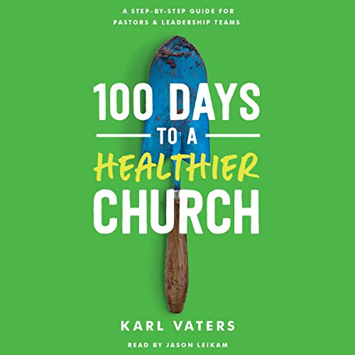 100 Days to a Healthier Church  By  cover art