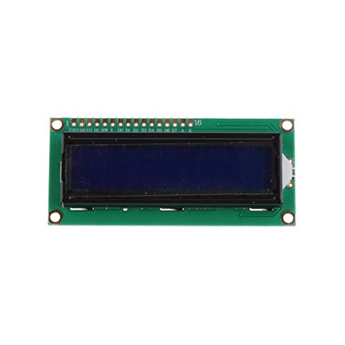 yotijar 5V 1602 Blue 16x2 LCD Display für/Adventures in Raspberry Pi