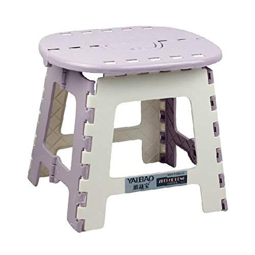 Fenteer Taburete Plegable Silla portátil Escalera escalonada niños y Adultos hogar baño...