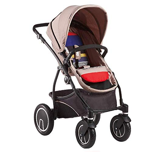 Yankuoo 3-in-1 reissysteem kinderwagen, multifunctionele draagbare kinderstoel, wieg, voetpad en regenhoes BRON
