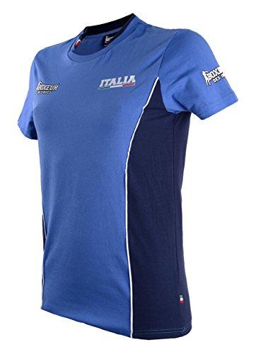 BOXEUR DES RUES Fight Activewear, Maglietta Allenamento Donna, Royal,...