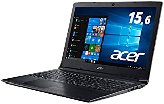 Acer (エイサー) ノートPC A315-53-A34U/K オブシディアンブラック [Core i3・15.6インチ・SSD 256GB・メモリ 4GB]