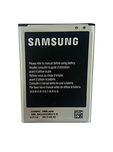 Batteria originale 1900mAh 3.8v Samsung B500AE per Samsung Galaxy S4 Mini in confezione non al dettaglio.