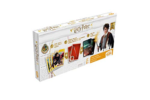 ASS- Tripack Harry Potter Juego de Cartas, Multicolor (Cartamundi 108448992)