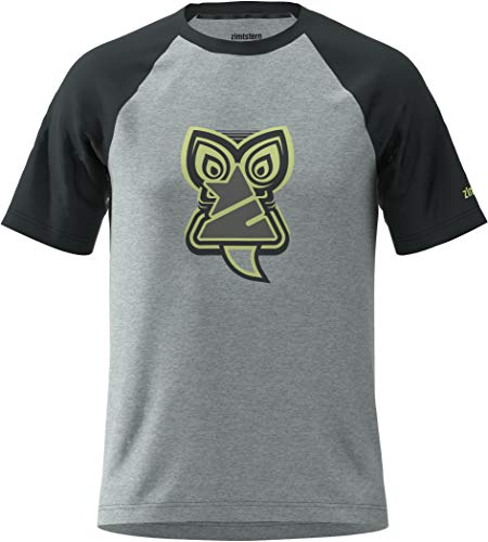 Zimtstern Hakaz T-Shirt Herren Pirate Black/Glacier Grey/Sharp Green Größe M 2020 Kurzarm Shirts