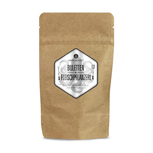 Ankerkraut Geschmacksmanufaktur Buletten & Fleischpflanzerl (Frikadellen) Gewürz, 250 Gramm