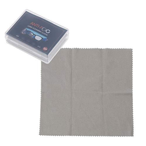 Xiaoyao24 Nano toallitas antiniebla para gafas de sol reutilizables anti niebla paño de limpieza para pantallas de cámara de dispositivos electrónicos