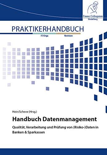 Handbuch Datenmanagement: Qualität, Verarbeitung und Prüfung von (Risiko-)Daten in Banken & Sparkassen