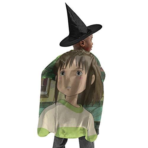 CrazyCoolArt Spirited Away Ogino Chihiro - Juego de bruja para Halloween, disfraz de bruja