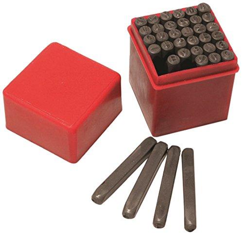 Hilka 62990036 Stanzer-Set, Zahlen und Buchstaben