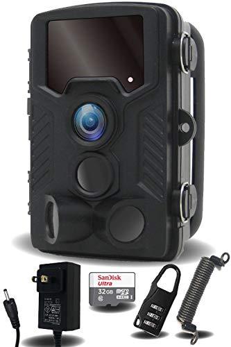 FL-Products 4K 防犯カメラ 防水 暗視 トレイルカメラ フルセット 人感センサー 動態検知 不可視 赤外線 9999-511306 【安心の日本企業・行政機関に納入実績あり】