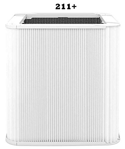 Neza Replacement Compatible with blueair Blue Pure 211+ Filter Foldable,Particle and Activated CarbonReplacement Filter,Compatible with Blue Pure 211+ Air Purifier