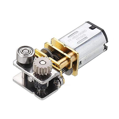 High Torque DC12V 11RPM Right Angle Output Metal Gearbox Micro Gear Motor for 3D Pen,Durable and High Quality