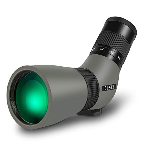 Gosky 9-27X 56mm ED Spotting Scope—— Waterproof,Compact, Portable Scope for Target Shooting,Hunting,Bird Watching,Wildlife Viewing