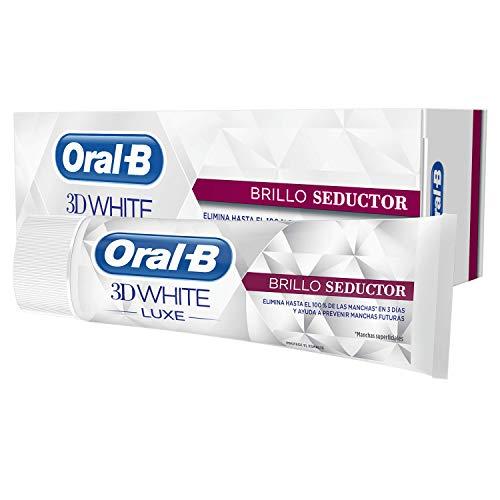 Oral-B 3D White Luxe Brillo Glamoroso, Pasta Dentífrica, 75ml