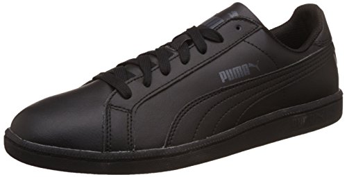 PUMA Unisex volwassenen Smash Leather Sneaker, White (White), 43 EU