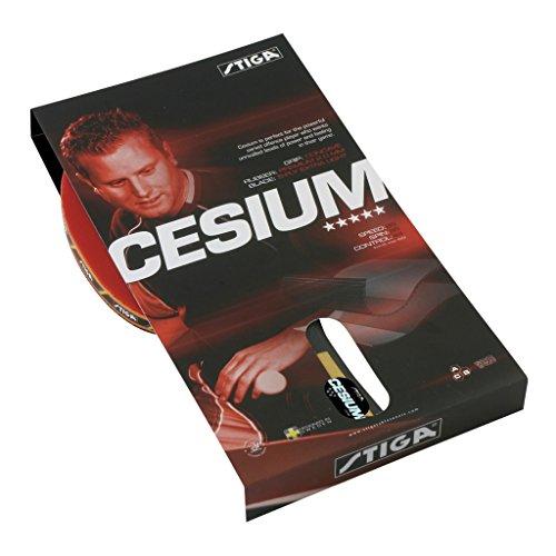 Stiga Ping Pong Schläger Cesium Wrb, rot