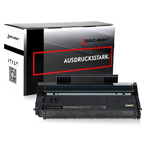 Toner kompatibel für Ricoh SP 112 Laserdrucker SP 112SU Aficio SP 100 e, Schwarz