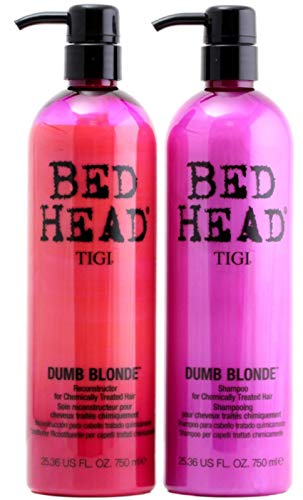 TIGI Tween Dumb Blonde Colour Combat Shampoo + Conditioner je 750ml
