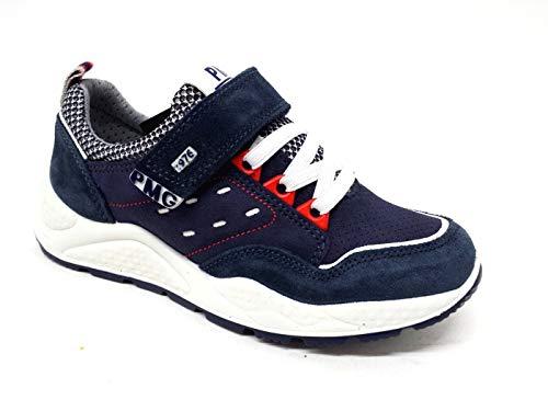 Primigi 5381511 Sneakers Camoscio Navy Scarpe Bambino Estive Strappo, 34