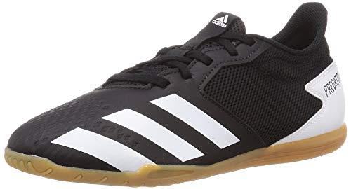 adidas Predator 20.4 IN Sala, Zapatillas de fútbol Hombre, NEGBÁS/FTWBLA/GUM3, 43 1/3 EU
