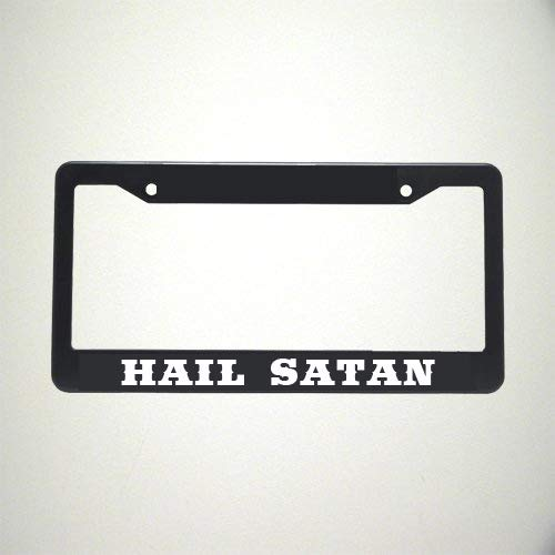 HAIL SATAN License Plate Holder