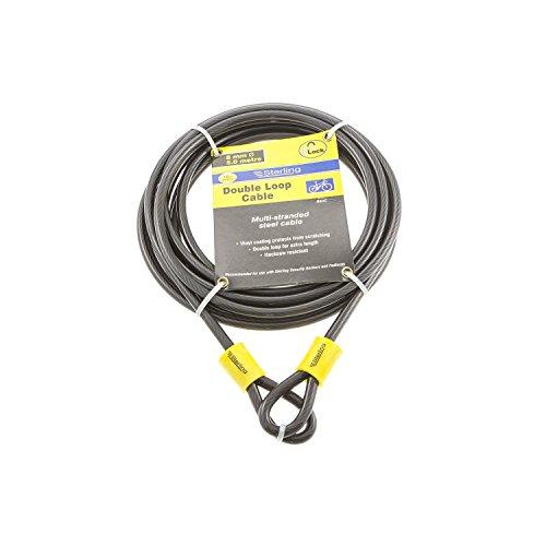 Sterling 850C Doppelschlaufen-Kabel, Vinylummantelung, 8 mm x 5,0 m